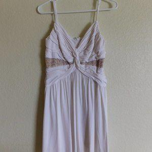 BCBGMaxAzria White Strappy Cocktail Dress